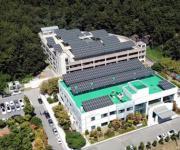 두산중공업, 전기 저장 가능한 태양광발전소 준공