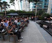 포스코, 산업단지 근로자 위해 '작은 음악회' 개최