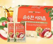 GNM자연의품격, NFC 착즙 주스 '순수한 사과즙' 출시