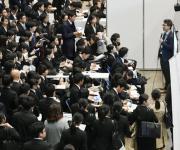 일본 기업에 프로 선수 지명