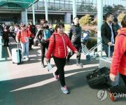 '인천항 훈풍 타나'…중국 팸투어단 카페리로 인천항 방문
