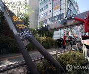 '전주 고소작업자 추락사망 사건은 인재' 작업차량 기사 영장