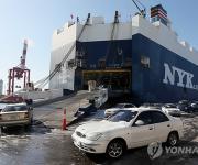국내 최대 중고차 수출기지 인천항 경비료 선납 '순항'