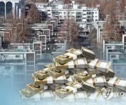 잇단 재건축 규제 방침에 서울 아파트값 상승폭 줄어