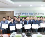 LH 대구본부 본부장-부서장 책임경영 계약 체결