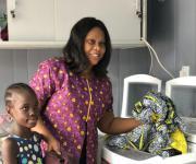 LG전자, 나이지리아 낙후마을에 무료세탁방
