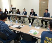 박춘섭 조달청장, 전북대 산학협력단 창업·벤처기업과 현장소통
