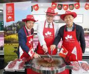 애그미트, 엑셀비프 '캐나다산 소고기' 론칭행사…대중화 본격화