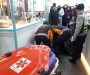 부산여행 중 실신 대만관광객, 재빠른 응급조치에 목숨 건져