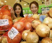 롯데 유통사업 부문, 양파농가 돕기 소비촉진 행사