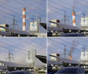 울산공단에 40년 전기공급한 화력발전 굴뚝 철거