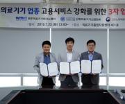 원주의료기기 기업 일자리 창출 지원 위한 업무 협약