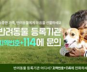 번호안내 114, '반려동물 등록기관·유기동물보호센터' 안내