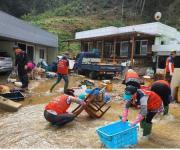 중앙자원봉사센터, 태풍'미탁' 재난복구현장에 자원봉사자 지원