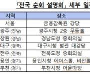 금감원, 내달 11일까지 대부업자 대상 전국 순회 설명회