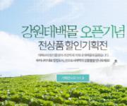 강원도경제진흥원·태백시, 온라인 쇼핑몰 '강원태백몰' 오픈