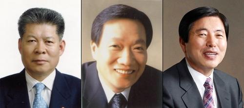 김성태·장인화·허용도 회장(왼쪽부터)