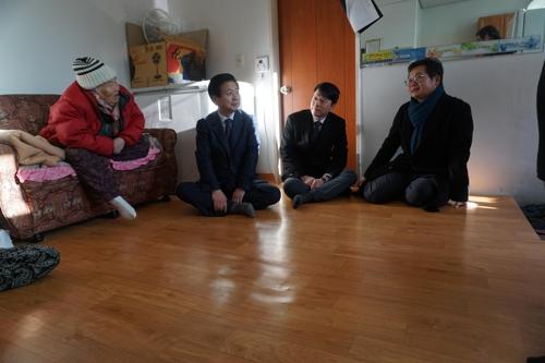 ESC상생포럼, 서울 마포 경로당들에 난방설비 기증