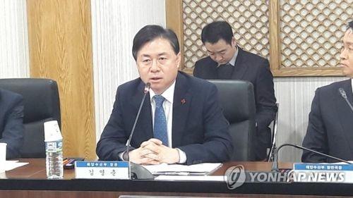 김영춘 해수부 장관 [연합뉴스 자료사진]