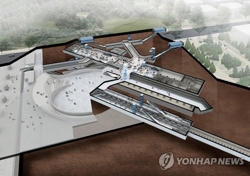 마곡나루역 조감도 [연합뉴스 자료사진]