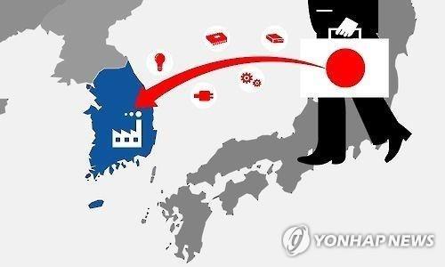 소재 부품 일본 의존(일러스트)
