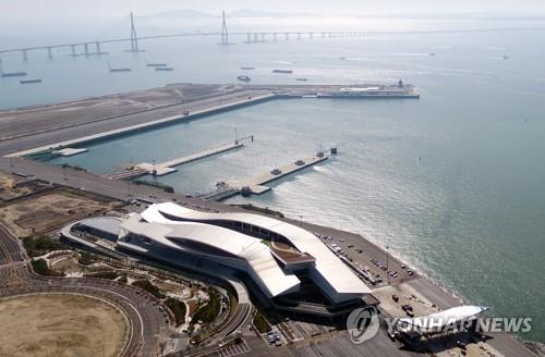 인천항 신국제여객터미널 전경