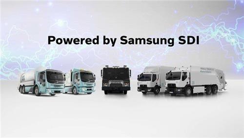 삼성SDI, 볼보와 트럭용 배터리팩 개발·공급 '전략적 제휴'