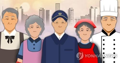 고령사회·노인 일자리(PG)