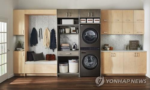LG전자 일체형 세탁·건조기 'LG 워시타워'