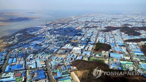 안산 반월국가산업단지 전경