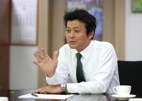 새해 시정 구상을 밝히는 김만수 부천시장 [부천시 제공=연합뉴스]