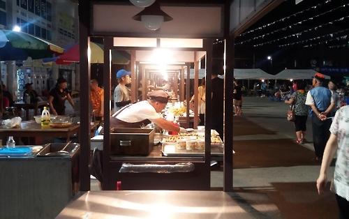 2016년 백마강 달밤시장