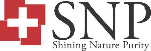 마스크팩 브랜드 SNP 로고