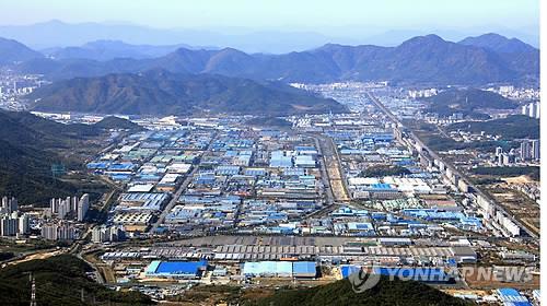 창원 산업단지 전경. [연합뉴스 자료사진]