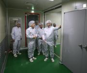조달청장, 구제역 방역용 살균제 수급 점검