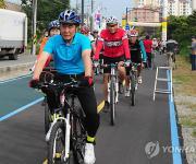 [진주소식] 진주 공직자 '자전거 이용의 날' 운영