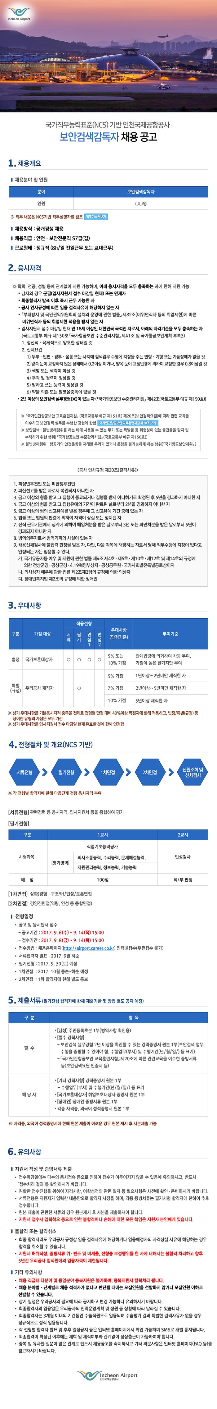 2017년 하반기 공개채용