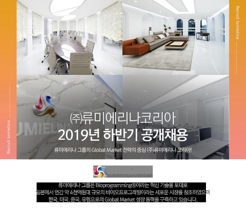 ㈜류미에리나코리아             2019년 하반기 공개채용