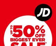영국 멀티숍 JD 스포츠, 국내 론칭 후 첫 세일…최대 50% 할인