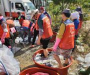 중앙자원봉사센터, 태풍 '콩레이' 복구 현장에 자원봉사자 지원