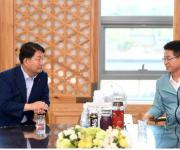 대구시장·경북지사 네 번째 교환근무…상생협력 강조