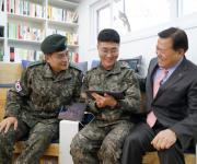 롯데, 연천 28사단에 국군장병 위한 청춘책방 열어