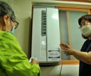 독거노인종합지원센터·SK하이닉스, 어르신들에 냉방용품 지원