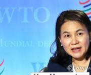 유명희, 유력 국제기관 WTO 사무총장 후보 평가서 '톱3' 꼽혀