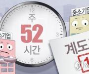 '주 52시간제' 50∼299명 중소기업 계도기간 올해 종료 (PG)