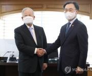 손경식 경총 회장 예방한 문승욱 산업부 장관