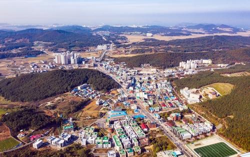 서산 대산읍 전경